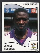Panini Sticker - Belgium Football 1990 - No 13 - Anderlecht - Charly Musonda