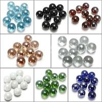 New 10/20/50 MIXED 16MM GLASS MARBLES TRADITIONAL GAME OR COLLECTORS ITEMS HOM