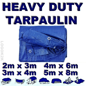 4-Sizes-Of-Heavy-Duty-Tarpaulin-Waterproof-Cover-Tarp-Ground-Camping-Sheet