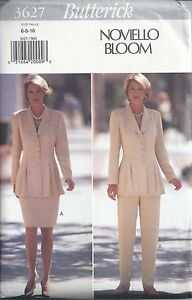 Butterick Sewing Pattern # 3627 Misses Top Skirt and Pants Sizes 6-8-10