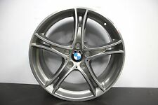 """1 x *NEW* Genuine Original BMW 1 2 Series F20 F21 361 19"""" Grey Diamond Alloy"""