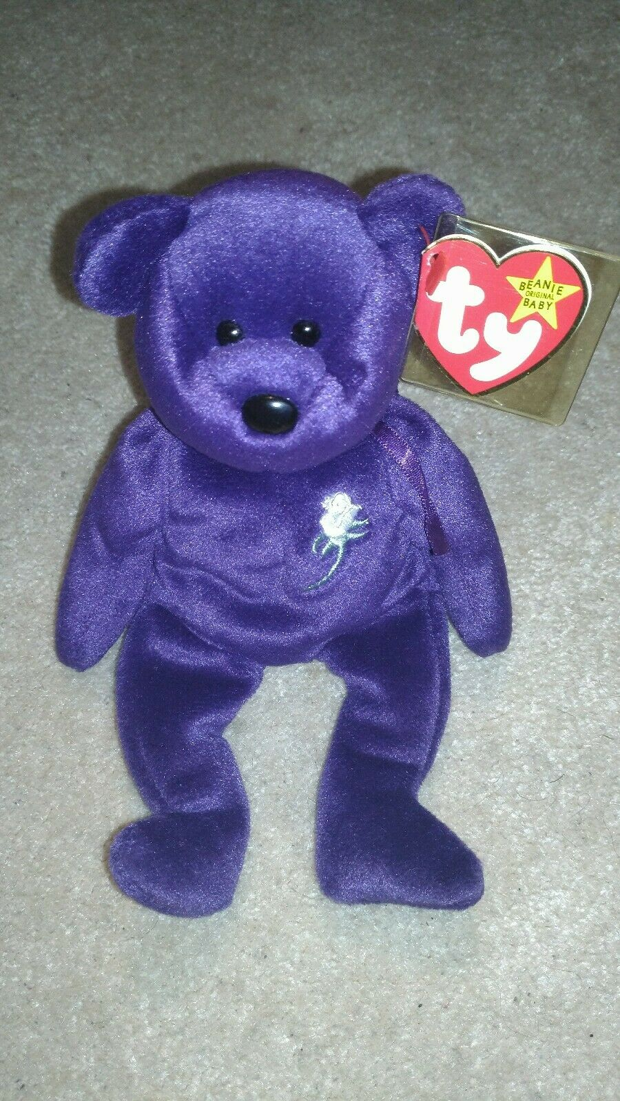 Princess Diana TY Beanie Baby Baby Baby Babie 1997 2nd Second Edition flawless condition 22528e