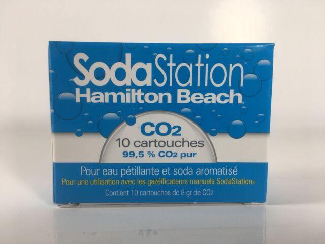Hamilton Beach 85910 Fizzini CO2 Replacement Cartridges 10 Pack