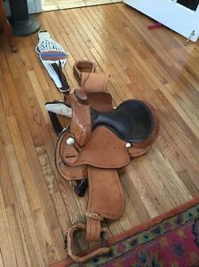 Details about Timber Ridge Saddle Company G 17 Custom Made Horse Saddle  Western Style
