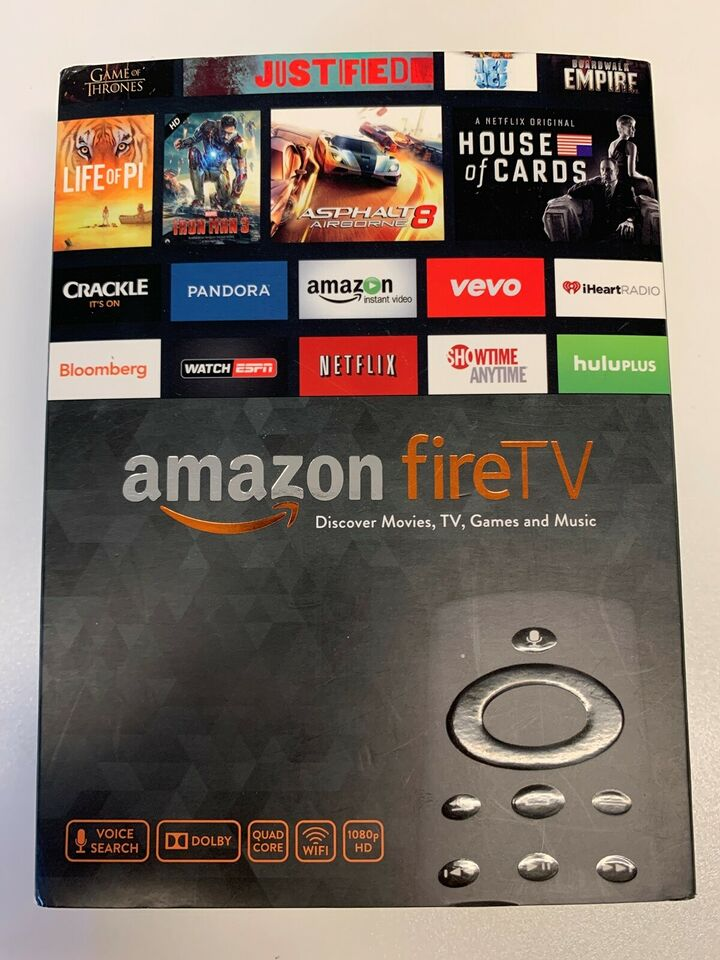Fire TV, Amazon, Perfekt