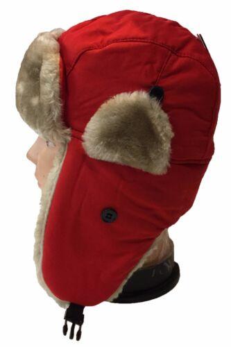 TODDLER FAUX FUR TROOPER WINTER AVIATOR HAT Kid  Cute Winter Hat Cap