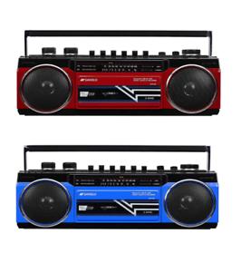SANSUI Bluetooth USB SD mp3 Radio Cassette Player Recorder NEW /& Retro model