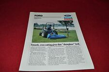 Ford 917 Flail Mower Color Brochure Vintage 12 pg /'73 MINT 3000 4110 LCG Tractor