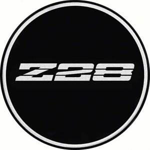 2 1 2 Iroc Wheel Center Cap Emblem Chrome Z28 Logo On A Black Background Ebay