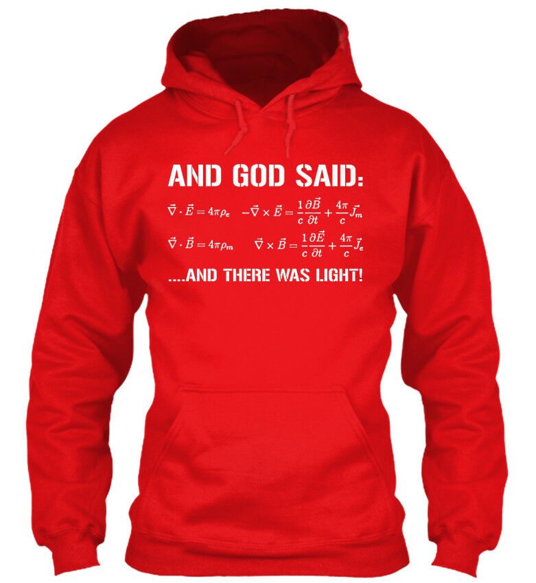 ...and There Was Light  - And God Said Said Said  ....and Standard College Hoodie | Reichhaltiges Design  | Verkauf Online-Shop  0ee9b8