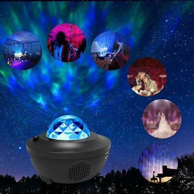 LED Projektor Sternenhimmel Lampe Starry Mond Stern Bluetooth mit Fernbedienung1