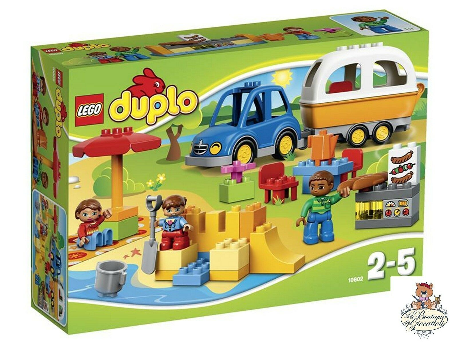 Jouets Et Campeggio Opsurr2378 Avventura In Lego 10602 Duplo Jeux QtrhdCs
