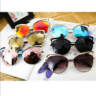 Women's Cat Eye Sunglasses Designer Sun glasses Travel Eyewear Vintage Shades
