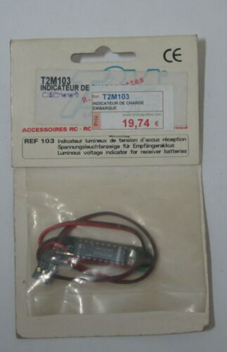 for 4 cells//4.8v T2m 103 embedded charge indicator obi-02-4