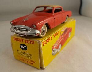 Dinky Toys N ° 24y Studebaker Commander En Boite
