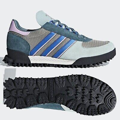 Adidas Originals Marathon Tr Baskets Homme ASH en Daim Vert B37444 ~ Taille 7 11 | eBay
