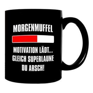 Details Zu Kaffee Tasse Morgenmuffel Becher Geschenk Büro Guten Morgen Kollegen Arbeit