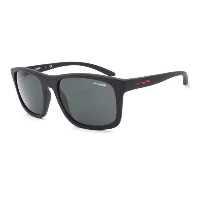 a8a94ac7f36 Arnette AN 4233-01 COMPLEMENTARY 01 87 Mens Matte Black Grey Lens Sunglasses