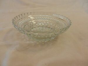 Vintage-Glass-Small-Dip-Bowl-scalloped-edges-Starburst-Center