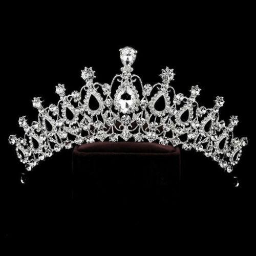 Accessories Headband For Bride Rhinestone Crown Hair Jewelry Luxury Crystal