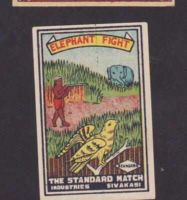 Ancienne étiquette paquet Allumette France Atlantic 2