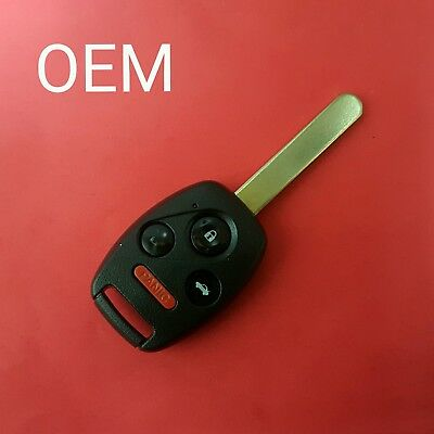 Recased OEM 2003-2007 Honda Accord Remote Head Key 4B Trunk  OUCG8D-380H-A