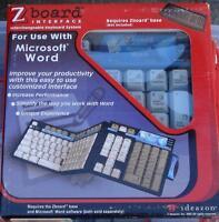 Ideazon / Steelseries Zboard Microsoft Word Keyset -brand In Package