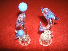 Glass crystal mirror ornament decoration piece