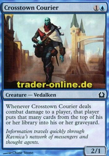 Stadtquerender Kurier 4x Crosstown Courier Return to Ravnica Magic