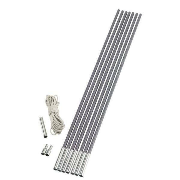 Outwell Duratec 9.5 mm Replacement Fibreglass Tent Pole Set x11 65 cm