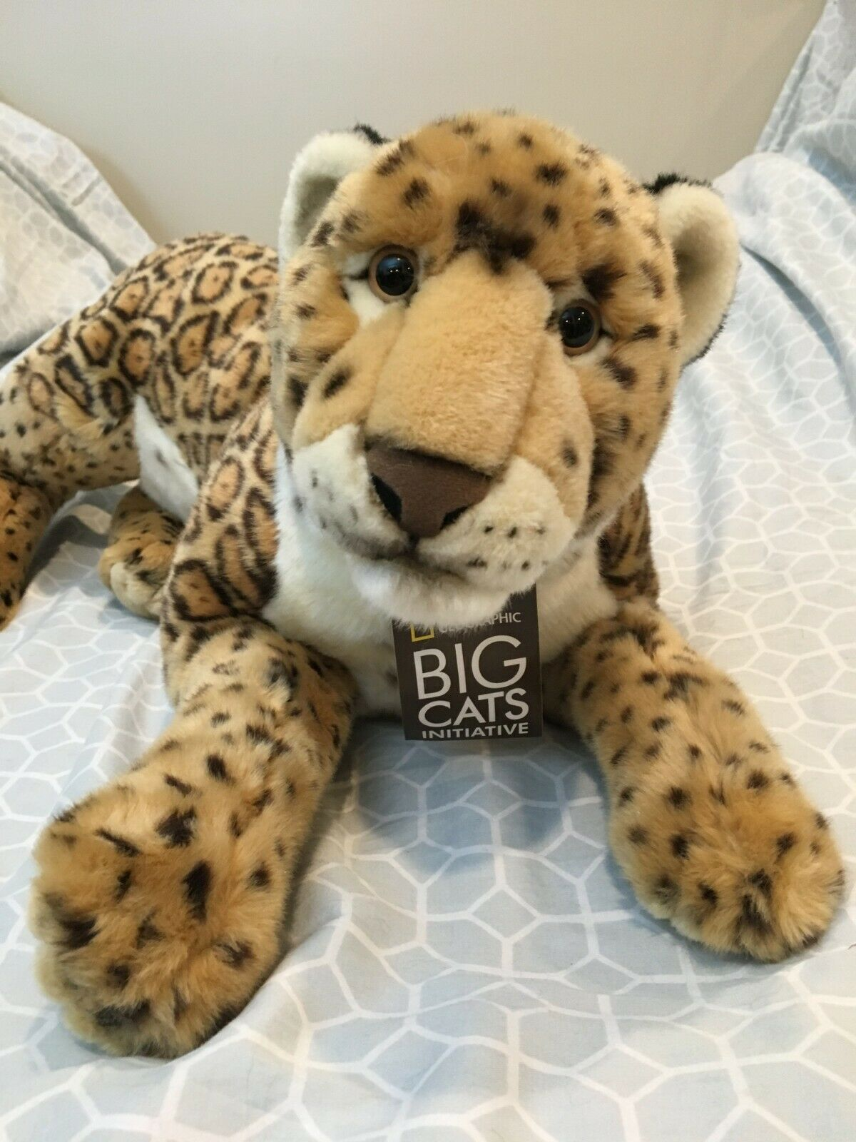Limited Lelly National National National Geographic Jaguar Plush gree 24  nuovo a7a278