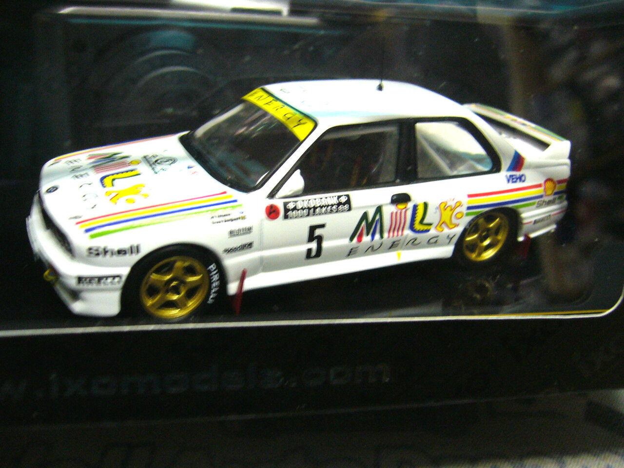BMW m3 e30 rallye vatanen taille a wm Finland 1000 Lakes 1988  5 New nouveau IXO 1 43