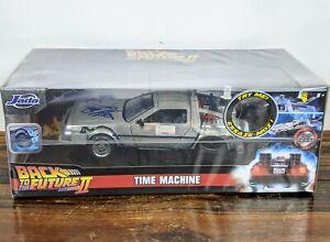 Michael-J-Fox-Signed-Auto-Back-To-The-Future-II-DeLorean-1-24-Car