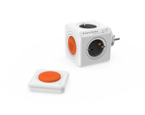 schaltbare 4 fach Ste allocacoc Eco PowerCube Remote Original mit Fernbedienung
