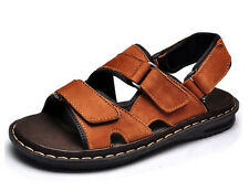702554b252937 3 Color Size 5-12 Mens Casual HiKing Flat Sandals Shoes Summer Retro Beach  new