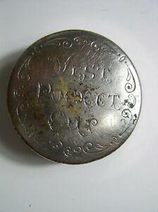 Antique Vest Pocket Collapsible Metal Cup 1897