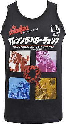 MANS PUNK T-SHIRT THE STRANGLERS PUNK  JAPAN VINTAGE ADVERT 1977 ROCKER S 5XL