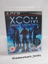 XCOM ENEMY UNKNOWN (PS3 PLAYSTATION 3) USATO COME DA FOTO