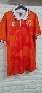 Paesi BASSI OLANDA retro football shirt 1996, Large UOMO, NUOVO CON ETICHETTE