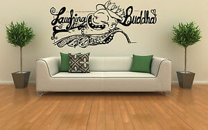 Image Is Loading Laughing Buddha Wall Art Vinyl Decal Sticker Home