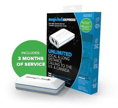 MagicJack EXPRESS Free 3 months Unlimited Calling