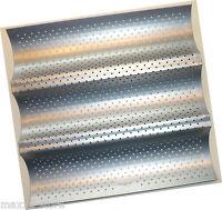 Patisse Backform Baguette-Backblech Baguetteblech 26x24 cm, ideal für Thermomix