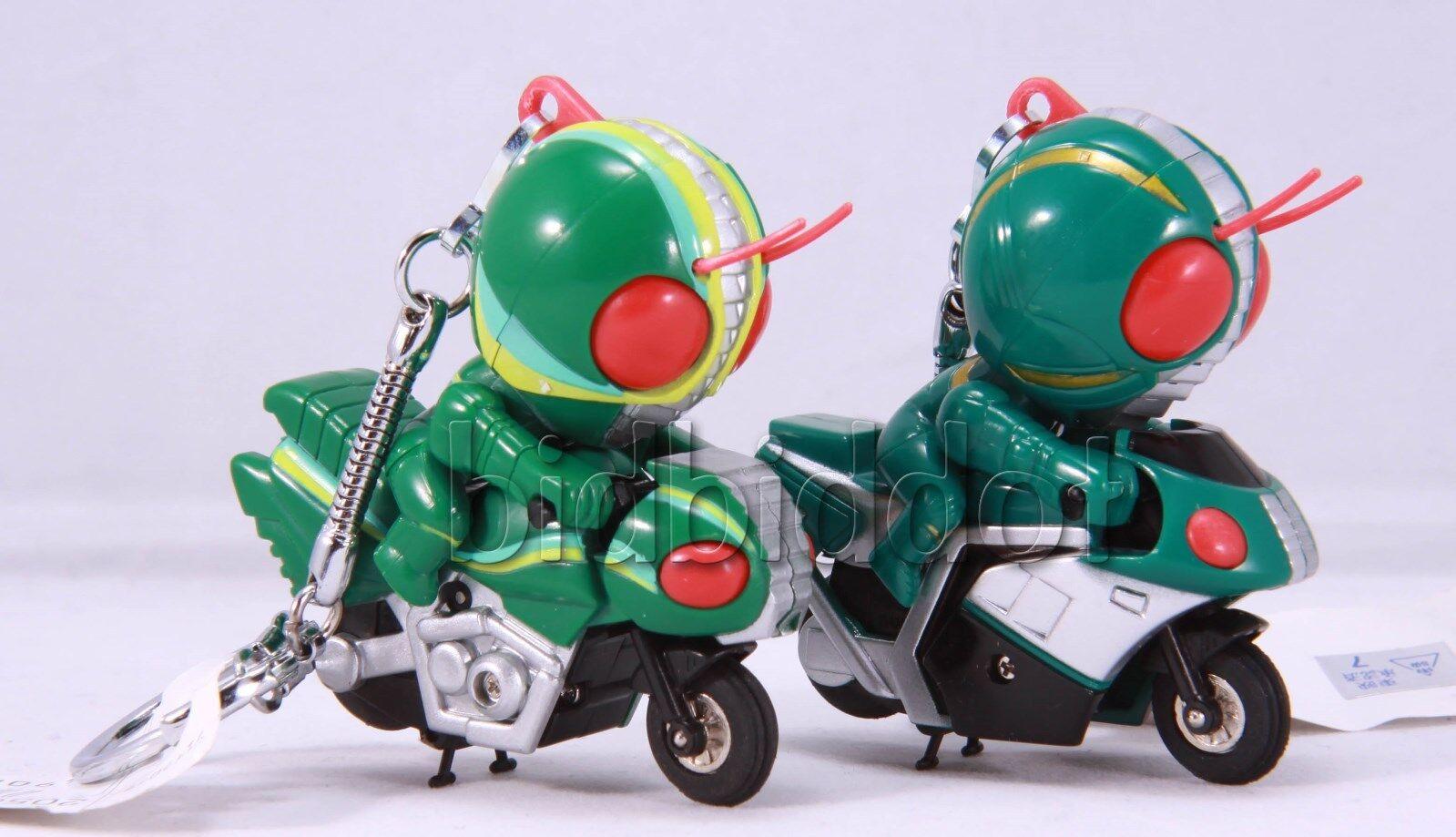Rare 1994 Kamen rider Masked Rider J & ZO SD SD SD Q bike KeyChain 9e244a