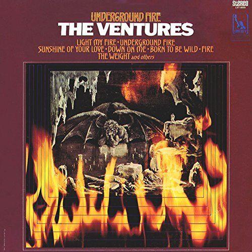 THE VENTURES UNDERGROUND FIRE JAPAN MINI LP SHM CD