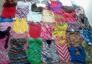 HUGE-Womens-Juniors-Clothes-LOT-NWT-Tops-Dress-Shirts-Clubwear-BabyDolls-Small
