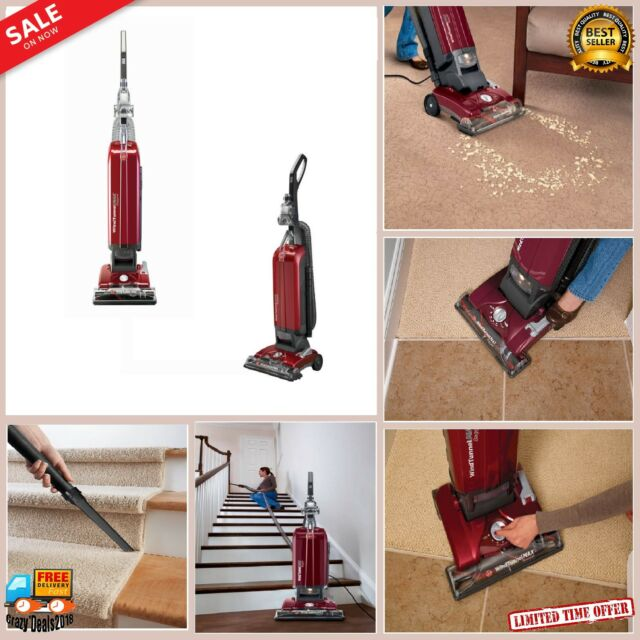WindTunnel Bagged Corded Upright Vacuum Cleaner floor carpet sweeper furniture