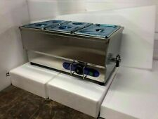 High Quality Stainless 5 Pot Steam Table Bain Marie Food Warmer 110v 1500w New