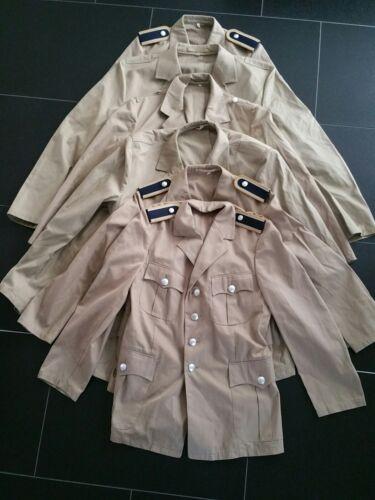 UNIFORM BUNDESWEHR Konvolut Uniformjacke Bw Sakko Flieger  Pilot Kostüm 6x Neu