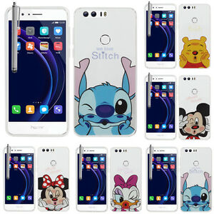 promo code 399e7 50164 Details about Case Cover Silicone TPU Ultra-Fine Drawing animated pretty  Huawei Honor 8 5.2