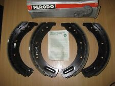 "NEW FRONT BRAKE SHOES - LAND ROVER SERIES I II IIa III / 1 2 2a 3 109"" (1956-84)"